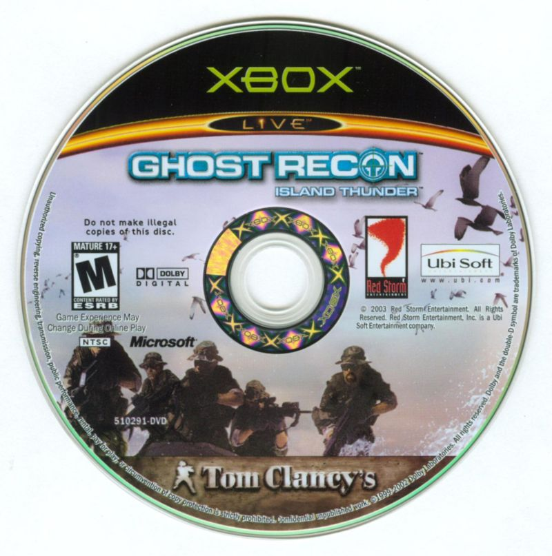 Tom Clancy's Ghost Recon: Island Thunder Xbox Media