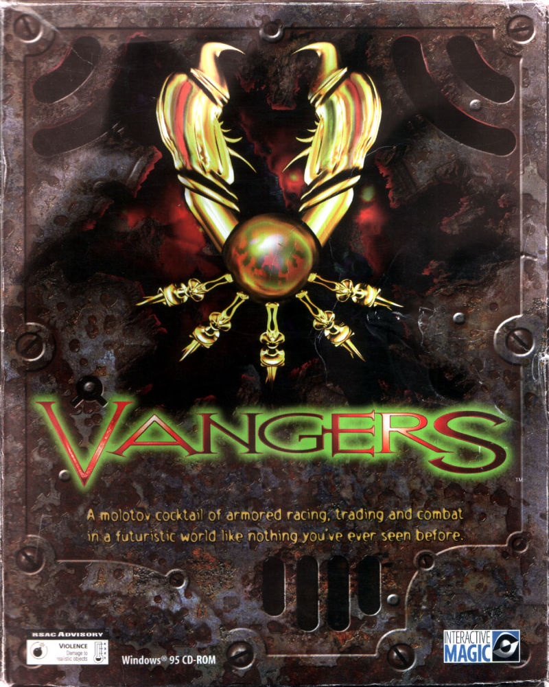 Vangers Windows Front Cover
