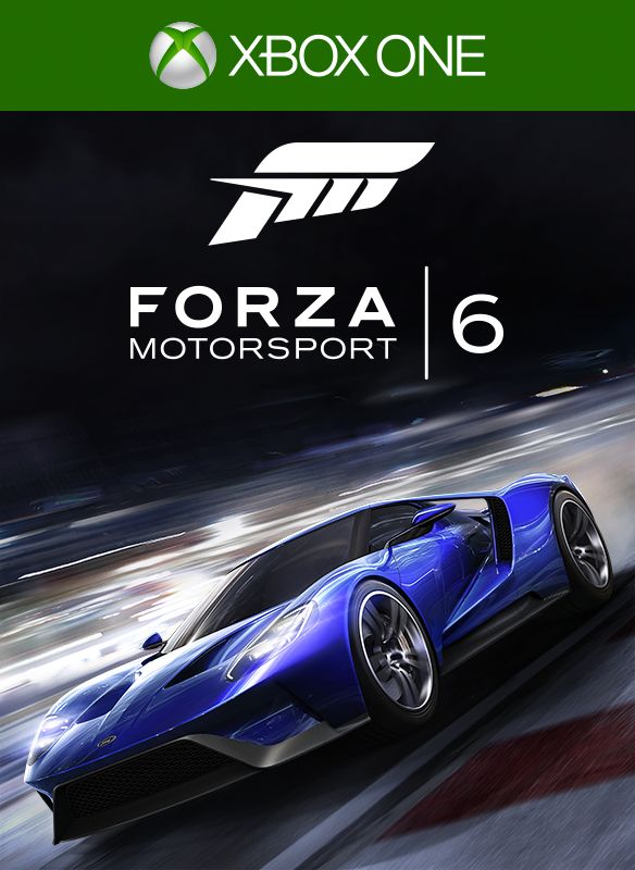 Forza Motorsport 6 Xbox One Front Cover 1st Version