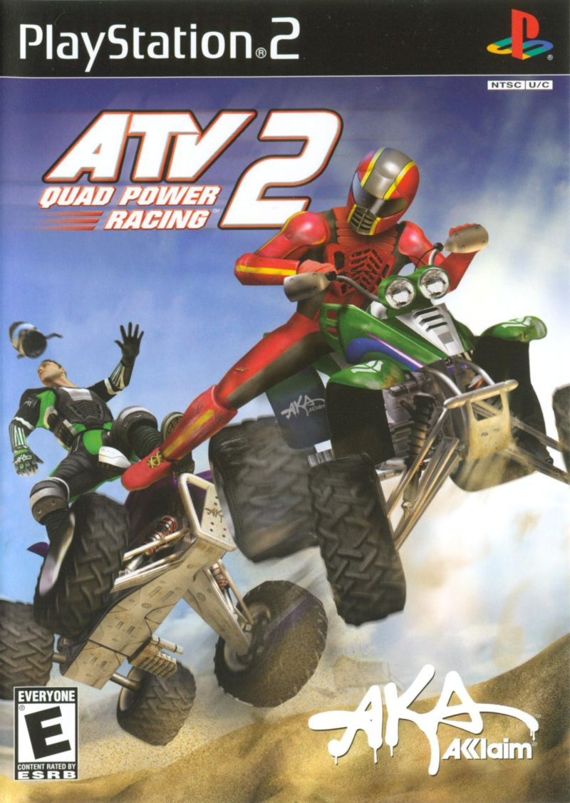 ATV: Quad Power Racing 2 PlayStation 2 Front Cover