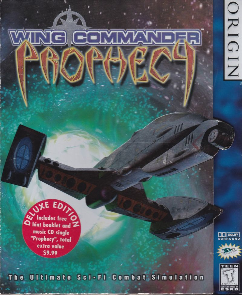 Wing commander prophecy deluxe for windows 1997 for Wing commander prophecy
