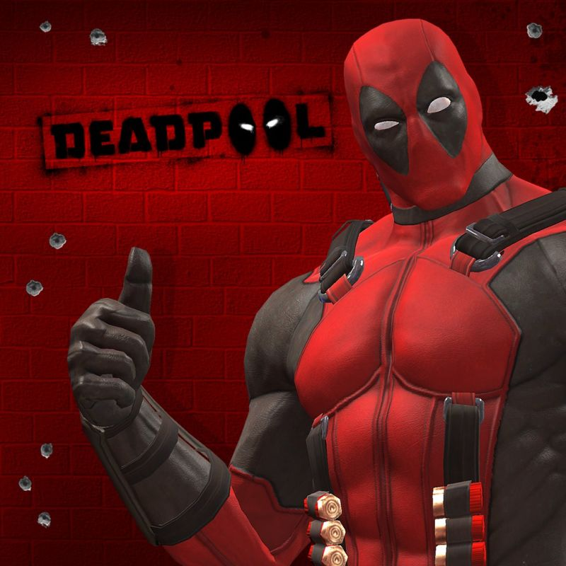 Deadpool: Merc with a Map Pack PlayStation 3 Front Cover