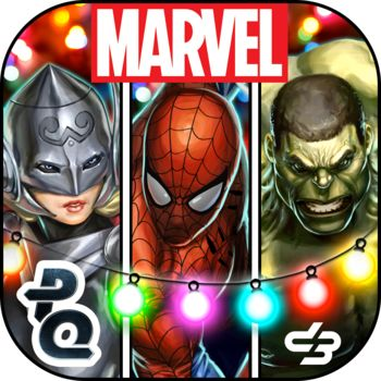 Marvel Puzzle Quest iPad Front Cover R89 release