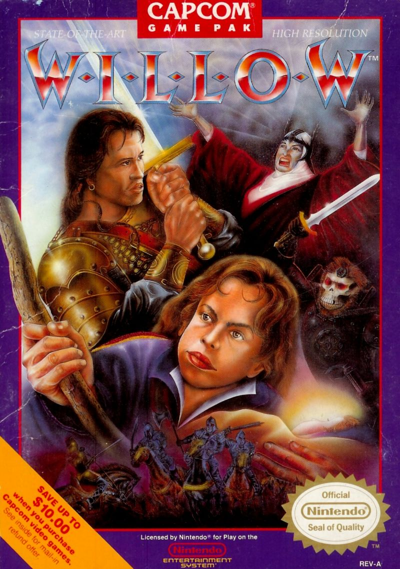 Willow NES Front Cover