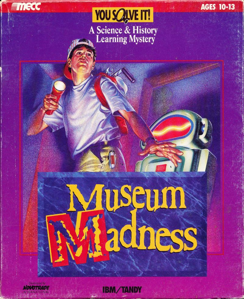 Museum Madness DOS Front Cover