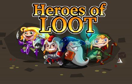 Heroes of Loot Browser Front Cover