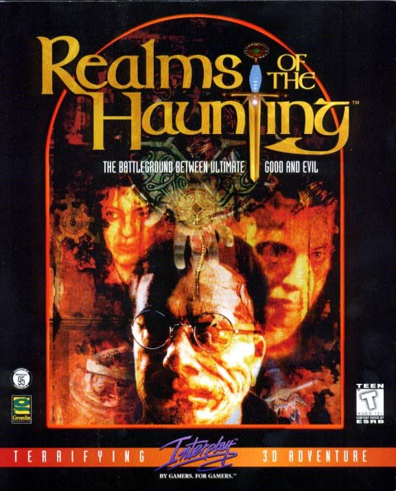 Realms of the Haunting DOS Front Cover