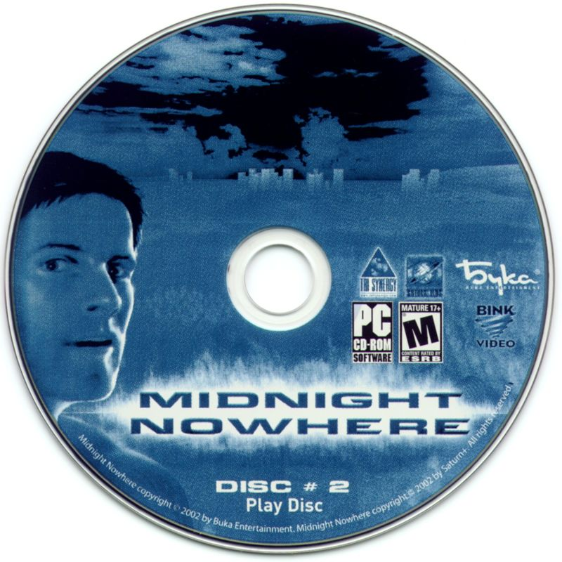 Midnight Nowhere Windows Media Disc 2