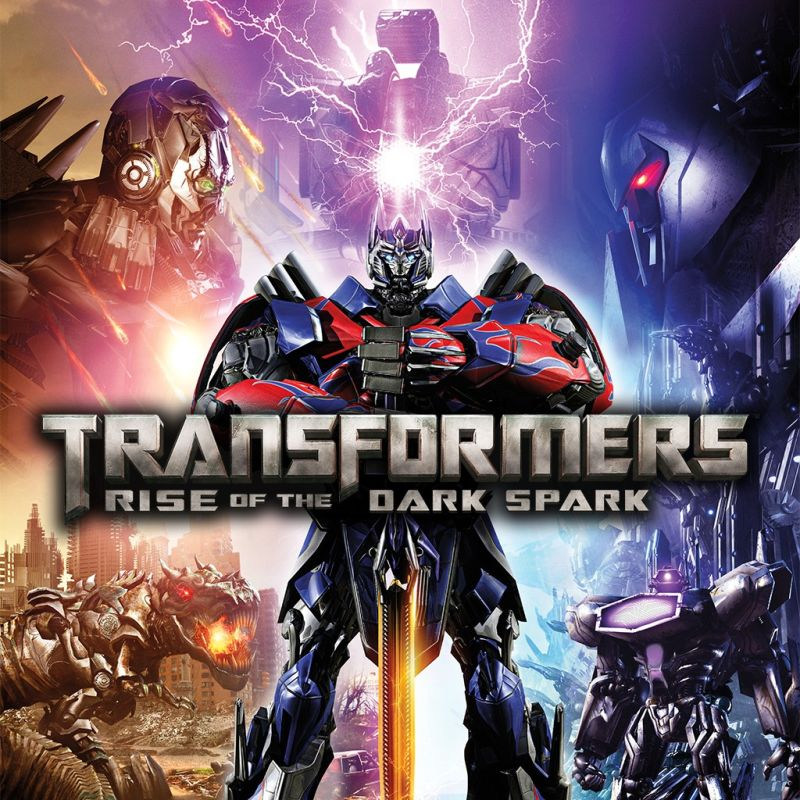 Transformers Rise Of The Dark Spark 2014 Playstation 4 Box Cover