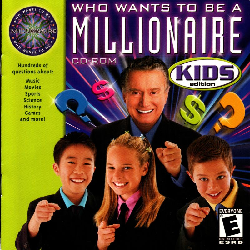 Who Wants To Be A Millionaire: Kids Edition (2001) Windows