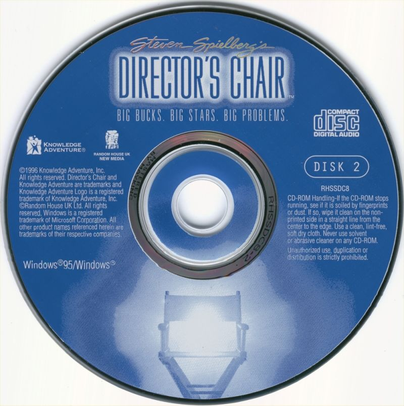 Steven Spielberg's Director's Chair Windows Media Disc 2