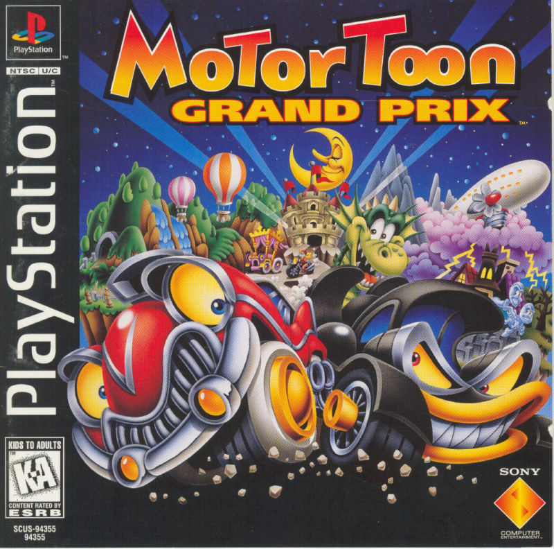 motor toon grand prix for playstation 1996 mobygames. Black Bedroom Furniture Sets. Home Design Ideas