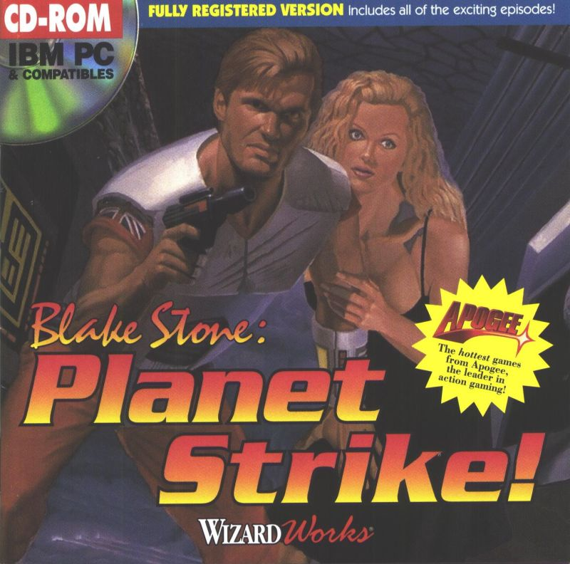 Blake Stone: Planet Strike! DOS Front Cover