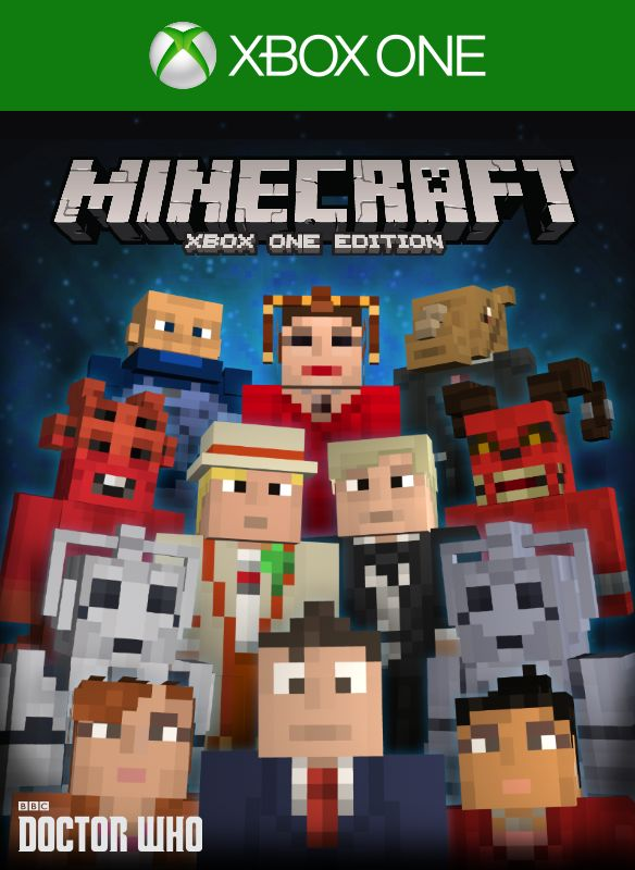 Book Cover Craft Xbox One : Minecraft xbox one edition doctor who skins volume ii