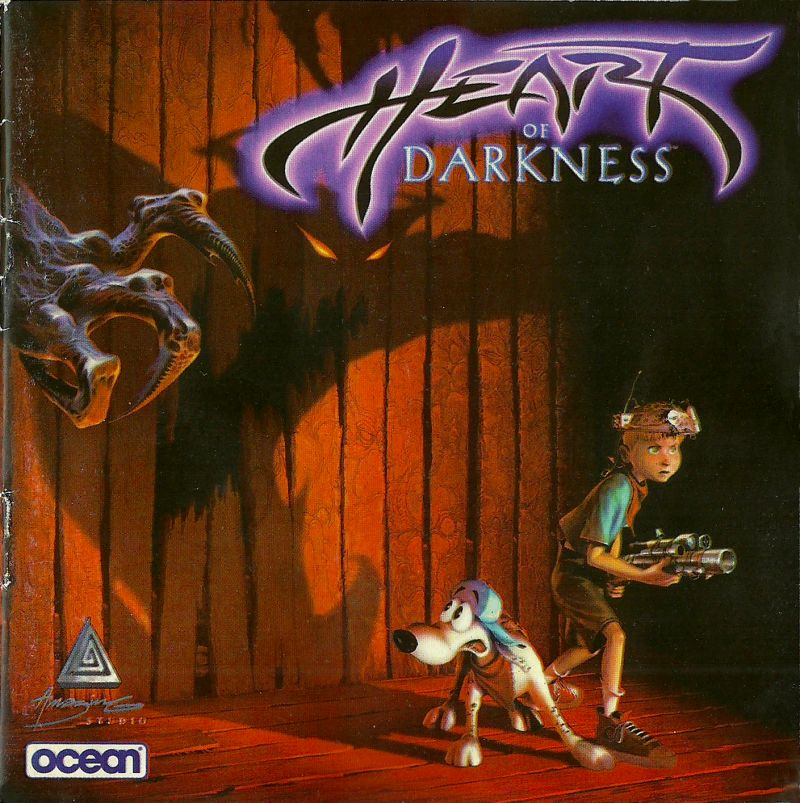 Heart of Darkness Windows Other Jewel Case - Front (Polish Manual)