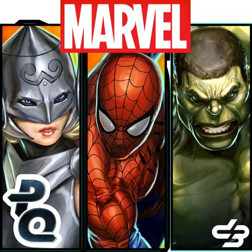 Marvel Puzzle Quest Android Front Cover R91 release