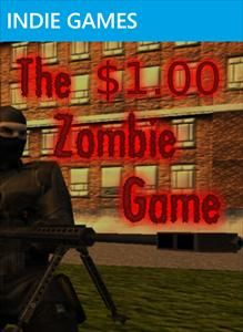 The $1 Zombie Game (2011) Xbox 360 box cover art - MobyGames