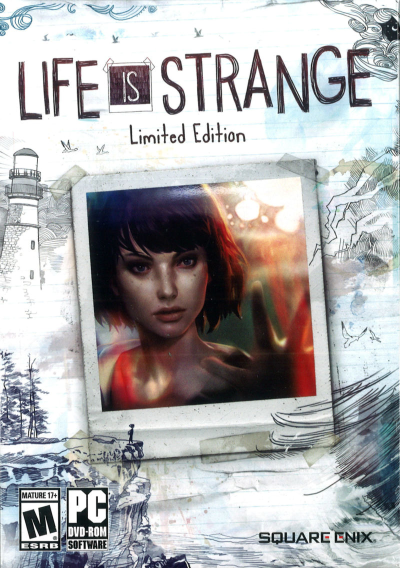 Life is strange pc box art cover by aho.