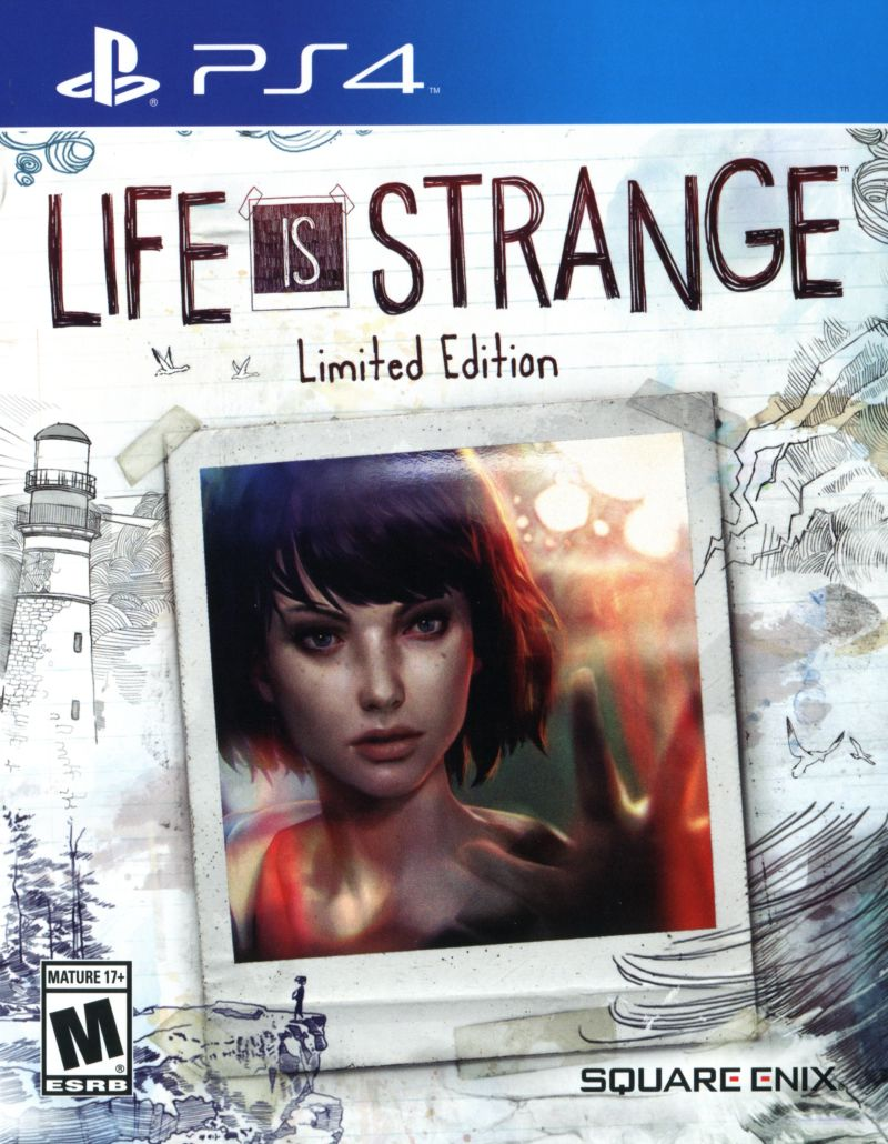 Life Is Strange Limited Edition 2016 Playstation 4 Box