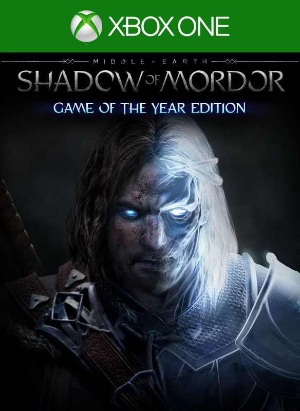 Middle-earth: Shadow of Mordor - Game of the Year Edition Xbox One Front Cover