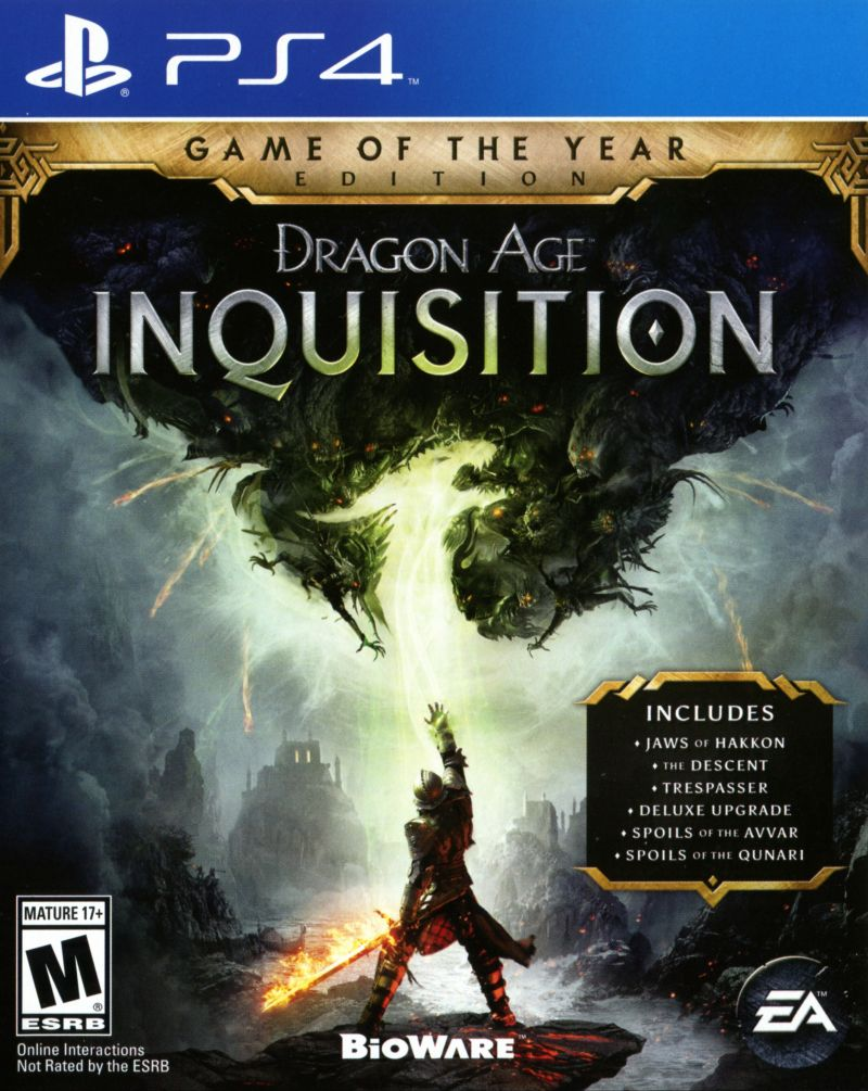 Dragon Age: Inquisition - Game of the Year Edition (2015 ...