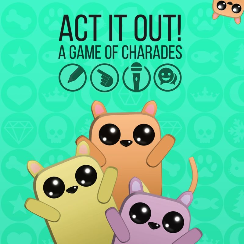 Act It Out!: A Game of Charades PlayStation 4 Front Cover