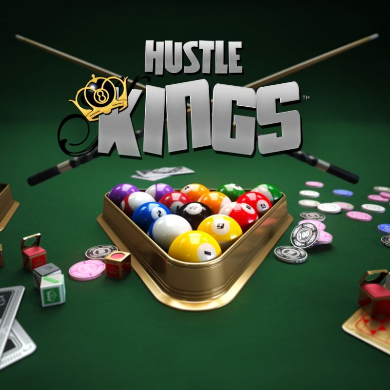 Hustle Kings PlayStation 4 Front Cover