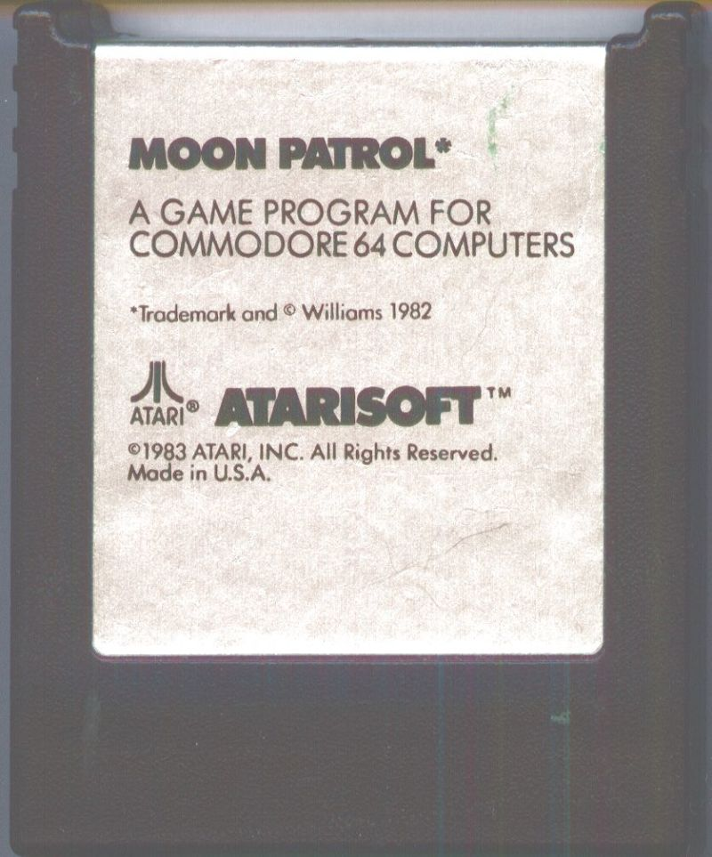 Moon Patrol Commodore 64 Media