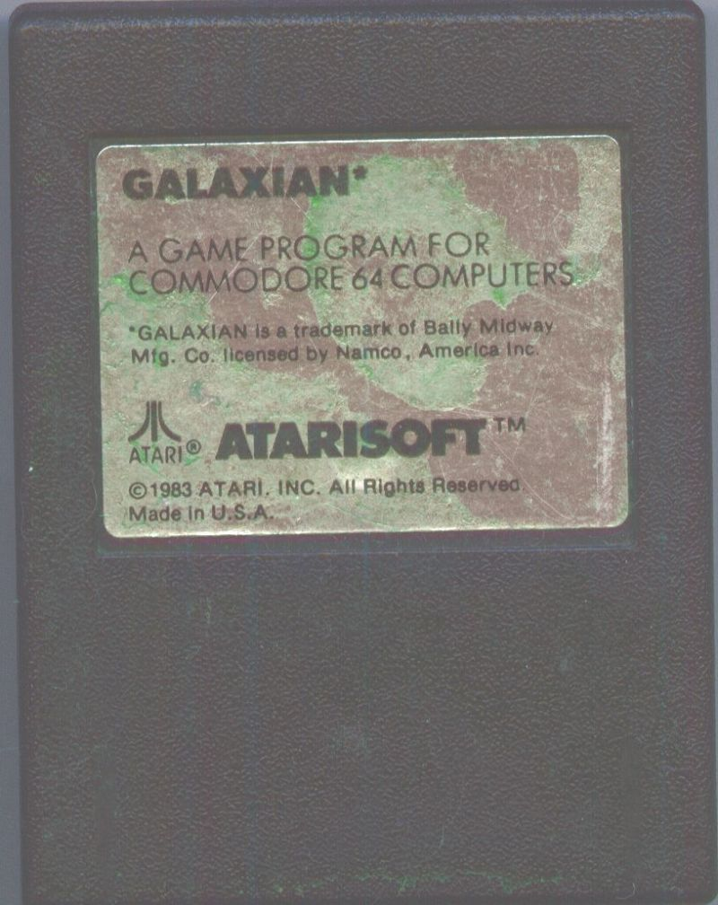 Galaxian Commodore 64 Media