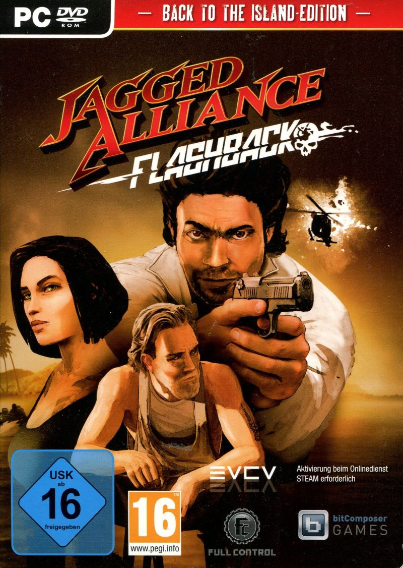 Jagged Alliance: Flashback (Back to the Island Edition)