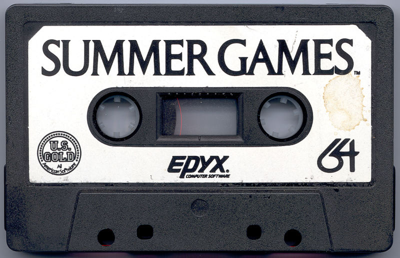 Summer Games Commodore 64 Media