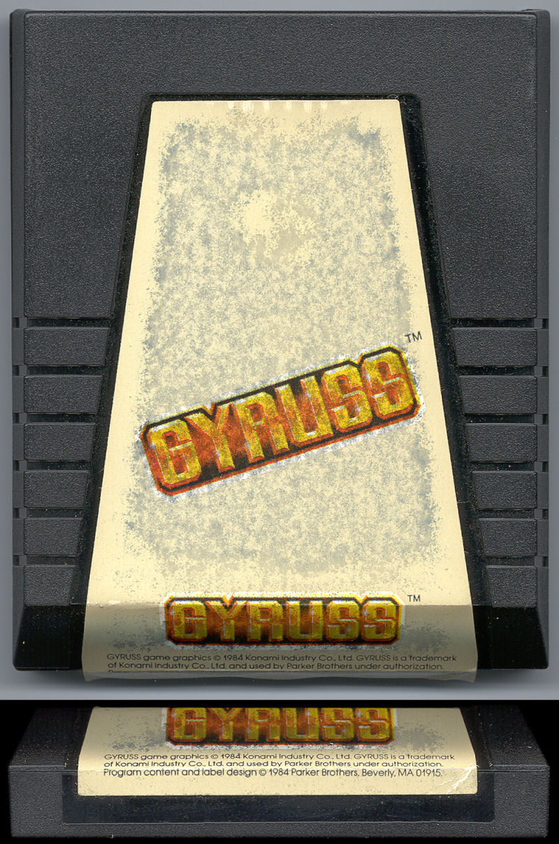 Gyruss ColecoVision Media