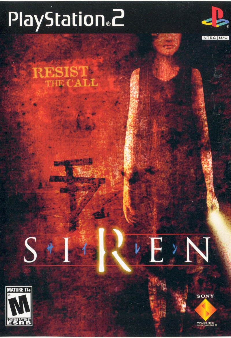 Siren PlayStation 2 Front Cover