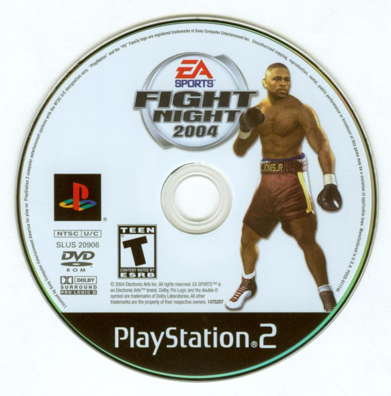 Fight Night 2004 PlayStation 2 Media