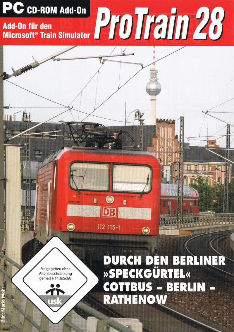 ProTrain 18: The Expansion Route Hamburg - Berlin 2007 pc game Img-2