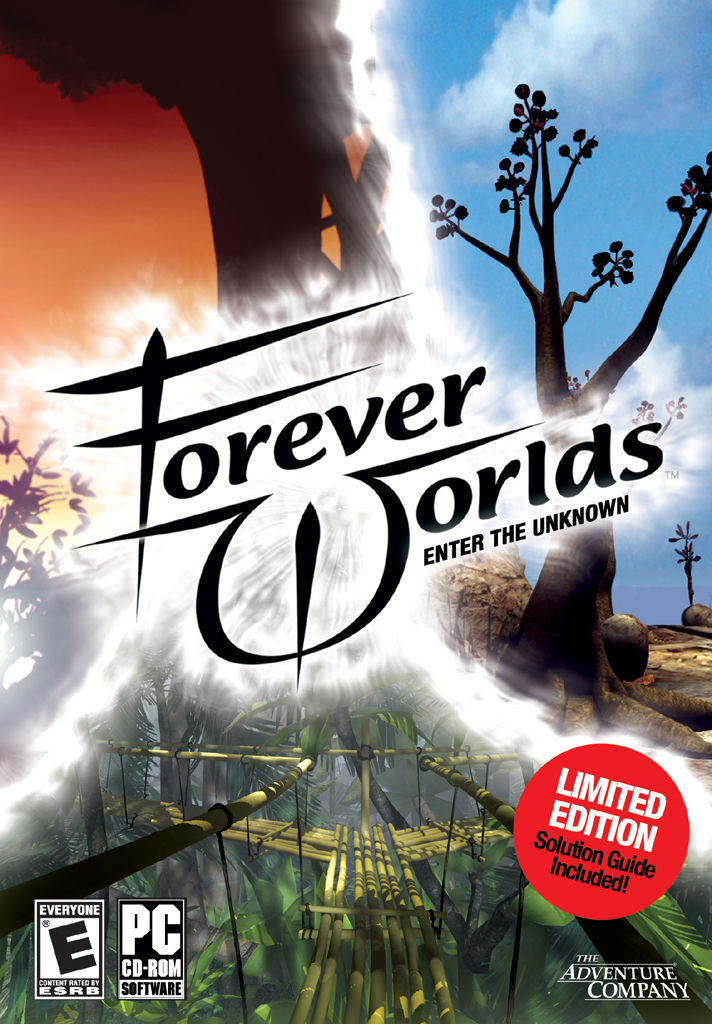 Forever Worlds: Enter the Unknown Windows Front Cover