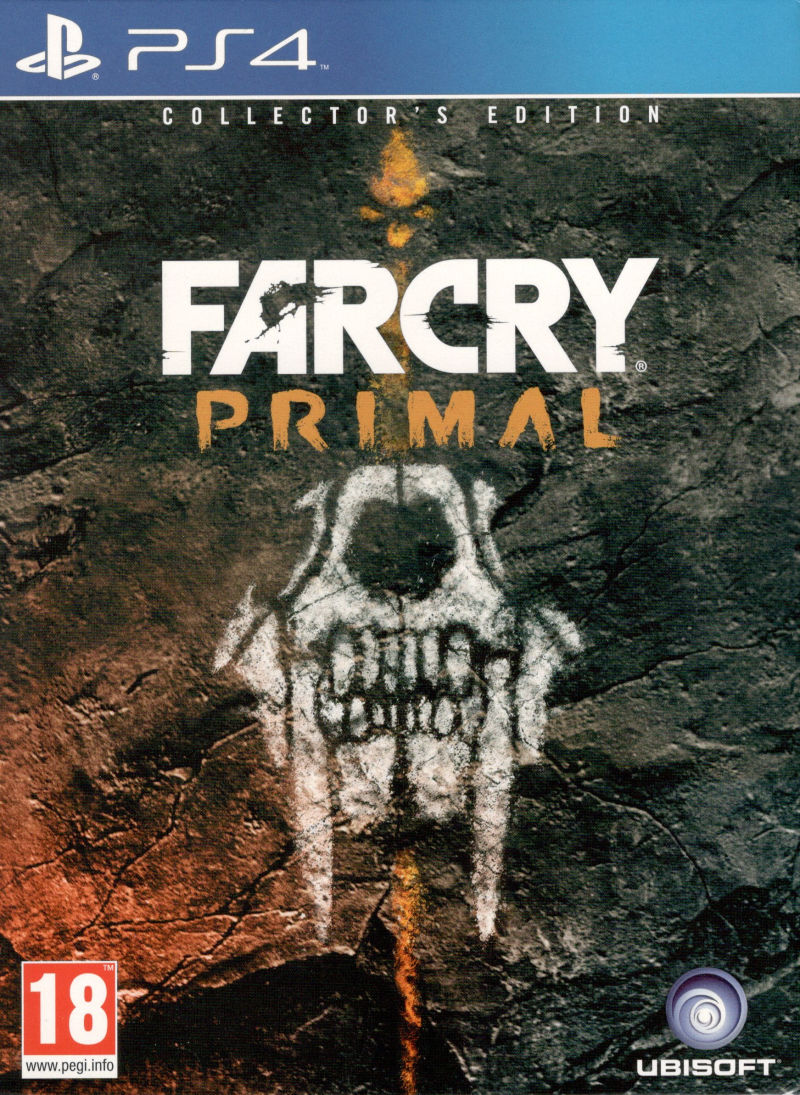 Far Cry Primal Collector S Edition 2016 Box Cover Art Mobygames