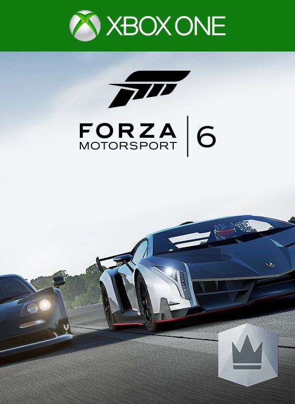 Forza Motorsport 6 VIP Xbox One Front Cover