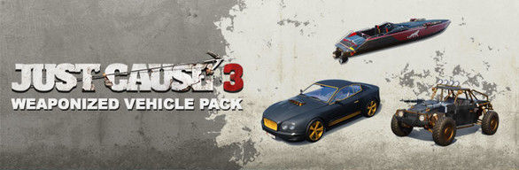 Just Cause 3: Weaponized Vehicle Pack