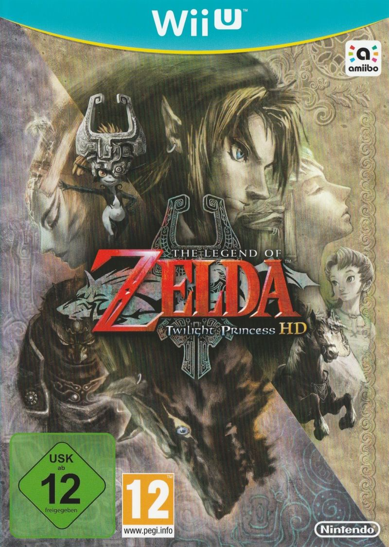 The Legend of Zelda: Twilight Princess HD (Limited Edition) Wii U Other Keep Case - Front