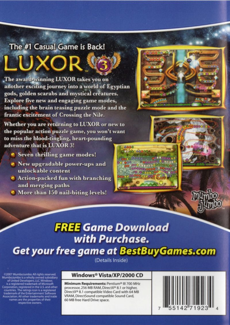 luxor 3 full version free download