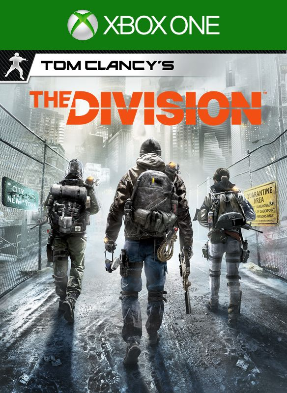 Tom Clancy S The Division 2016 Xbox One Box Cover Art