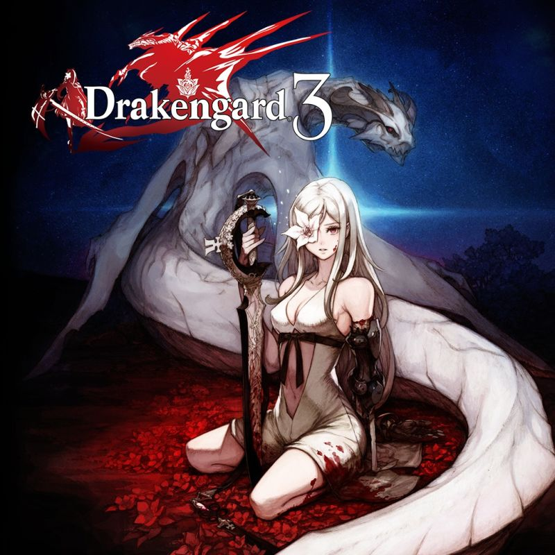 Drakengard 3 PlayStation 3 Front Cover