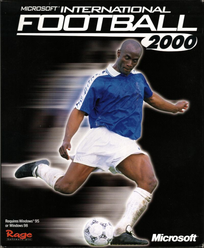 Microsoft International Soccer 2000 Windows Front Cover