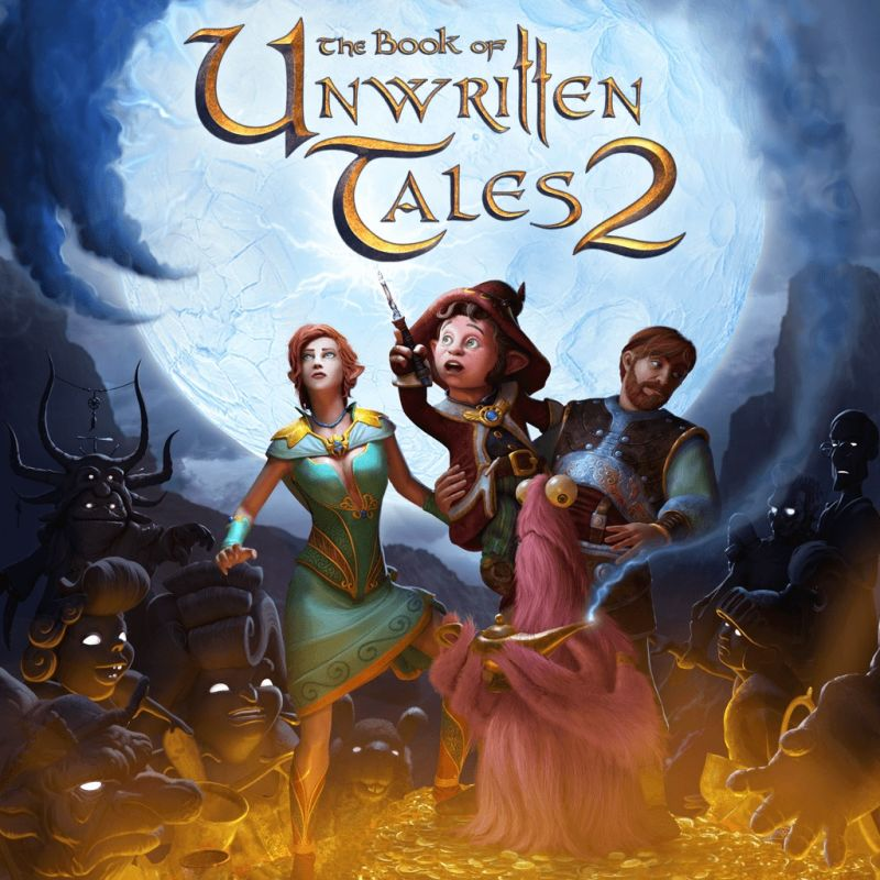 обложка 90x90 The Book of Unwritten Tales 2