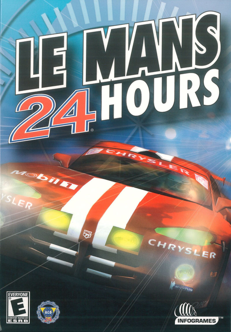 Le Mans 24 Hours Windows Front Cover