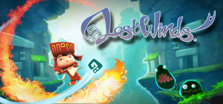 LostWinds Windows Front Cover