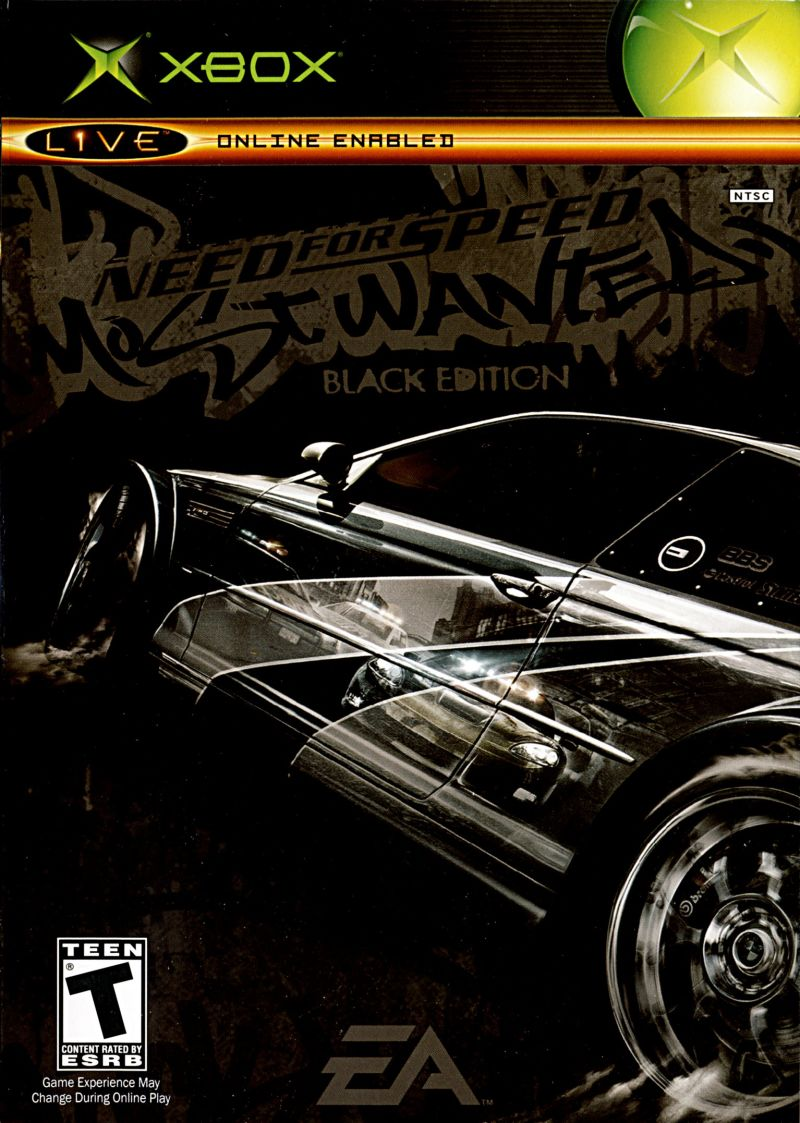 Need for Speed: Most Wanted (Black Edition) for Xbox (2005) - MobyGames