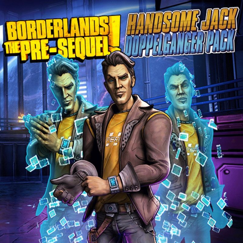 Borderlands: The Pre-Sequel! - Handsome Jack Doppleganger Pack PlayStation 3 Front Cover