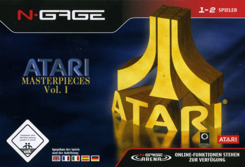Atari Masterpieces Vol. I N-Gage Front Cover